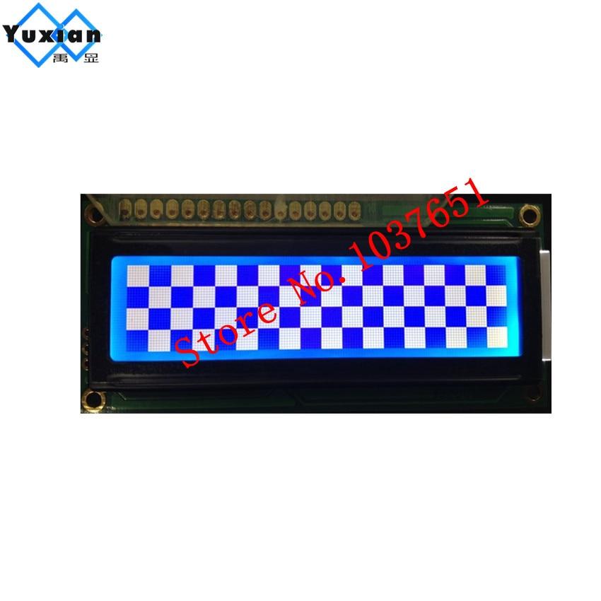 Bildschirme Yuxian 14432 Lcd Display Panel Modul 1602 Graphic Art 16pin 80*36mm St7920 Spi Serielle 5 V Blau Lg144321 Wg14432 1 Stücke Unterhaltungselektronik