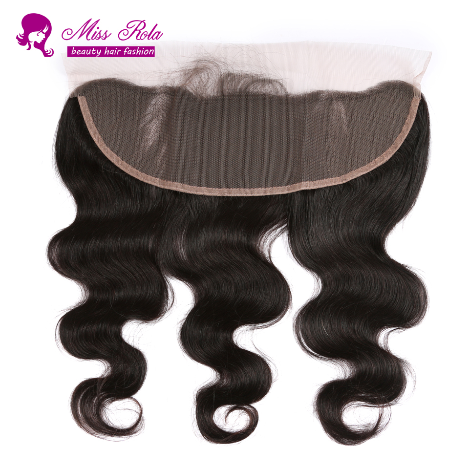 Brazilian Virgin Hair Ear to Ear Lace Frontal Closure,Brazilian Body Wave,13x4 With Free Shipping,Lace Frontals With Baby Hair