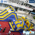 FREE SHIPPING BY SEA Giant Outdoor  Inflatable Obstacle Course Inflatable Slide Bounce House Combo For Sale