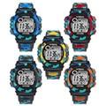 Perfect Gift  Kids Child Boy Girl Multifunction Waterproof Sports Electronic Watch Watches  Levert Dropship Mar02