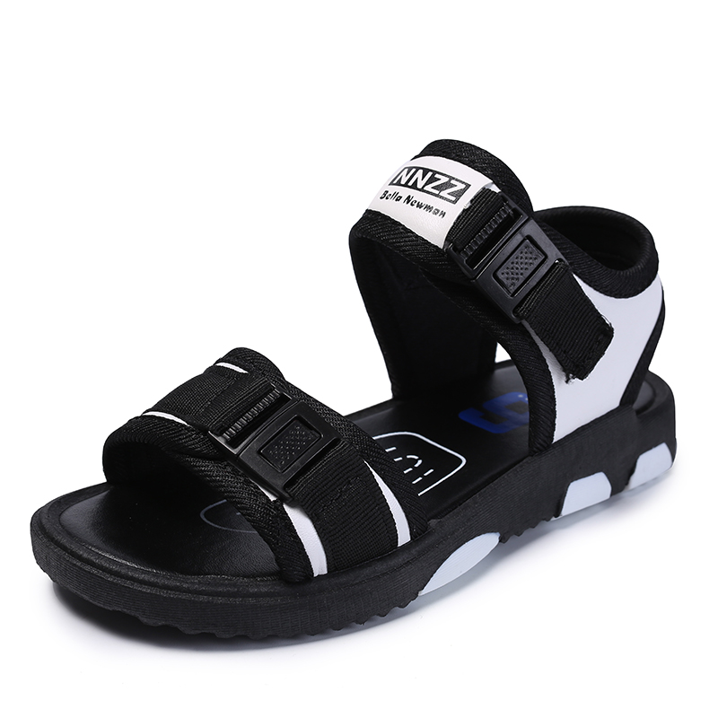 Boys Sandals 2018 Summer Children Sports Beach Anti-slippery Sandals Girls Casual Open-toed Shoes Kids Footwear Size 28-37