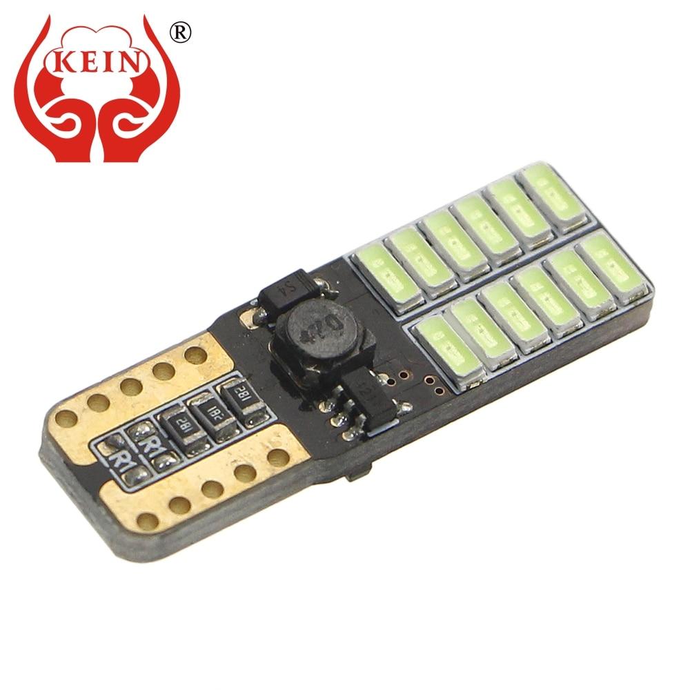 KEIN 4PCS 24 SMD Canbus No Error T10 194 W5W Auto Auto LED Boční - Autosvětla