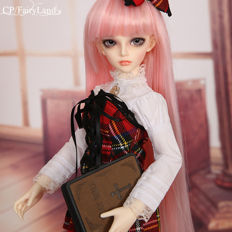 Fairyland Minifee Mirwen doll 1/4 sd/bjd toys msd fairyline luts delf clothes wig shoes eye model tsum girls boys toys shop(China)