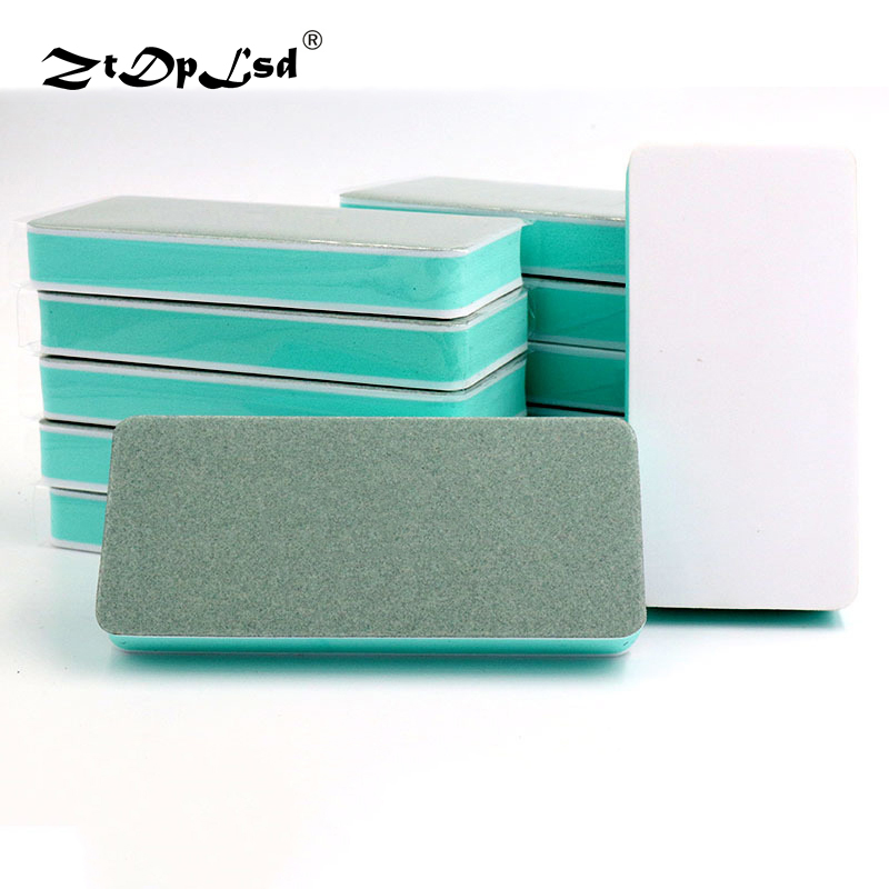 ZtDpLsd 1Pcs Double-sided Polishing Plate Walnut Block Strip Jade Instrument Play Gold Silver Jewelry Sandpaper Bar Pad Brush