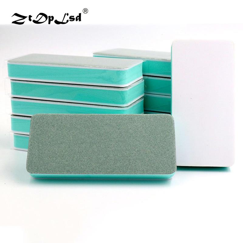 ZtDpLsd 1Pcs Double-sided Polishing Plate Walnut Block Strip Jade Instrument Play Gold Silver Jewelry Sandpaper Bar Pad Brush