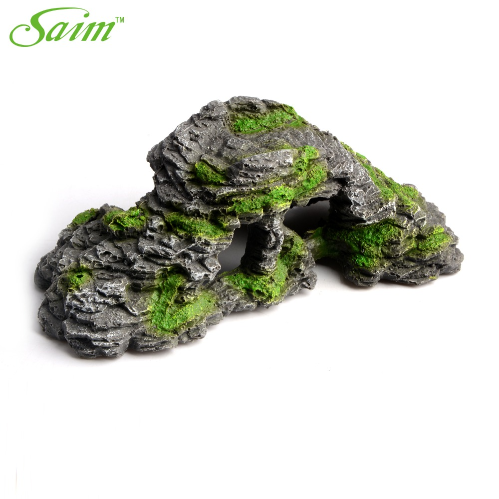Buy artificial stone fish tank aquarium for Aquarium cave decoration