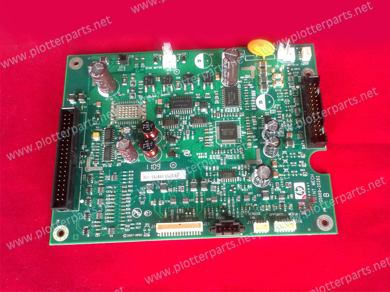 Q6675-60018 Q6675-67801 Print mechanism PC board for fit HP DesignJet Z2100 Z3100 Z3200 Z5200 used q6675 67033 new hard drive disk for designjet z2100 z3100 ps 160gb w fw sata hdd q6675 60121 q5670 67001