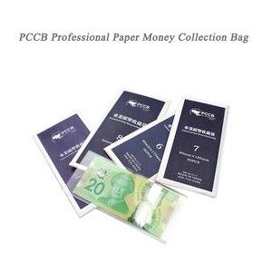 PCCB NO.1-9 11 размеров, Профессиональные Банкноты OPP, сбор бумажных денег в пакете, пластиковый пакет, 11*50 шт, Бесплатная доставка