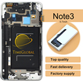 10pcs For Samsung for Galaxy Note 3 N9005 n900 n900a LCD Display Touch Screen with Digitizer Assembly + Frame , Free shipping