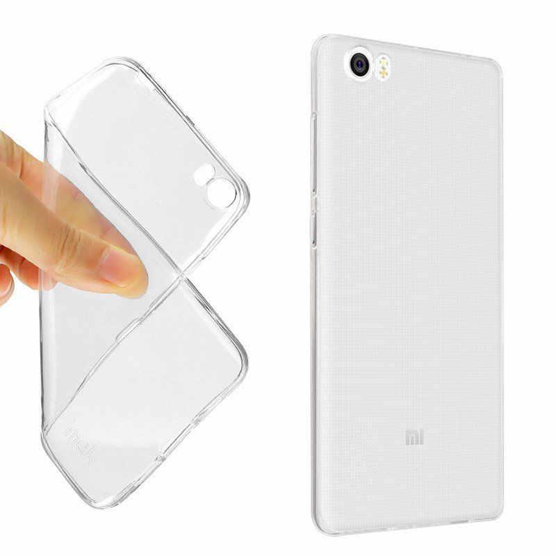 Чехол из ТПУ для Xiaomi Redmi Note 4X4 3 Pocophone F1 для Xiaomi mi max 2 A1 5 6 5S Red mi 4X 4A 5A 6A 5 Plus прозрачный, мягкий чехол
