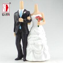 Wedding gift custom wedding cake topper resin body / creative gifts / clay dolls / custom / clay doll body SR276