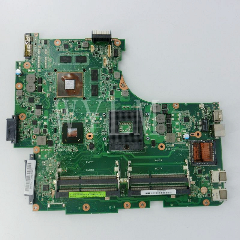 N53SV Mainboard For ASUS N53S N53SV laptop motherboard REV2.2 HM 65 GT540M ,4 slot ,60-N1QMB1300-D14 ,100%Tested Working Well codificador for trd s100b well tested working