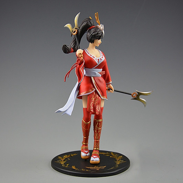 """8""""Anime Game League of Legends The Fist of Shadow Akali Action Figure Toy Doll Brinquedos Figurals Collection LOL Model Gift 1"""