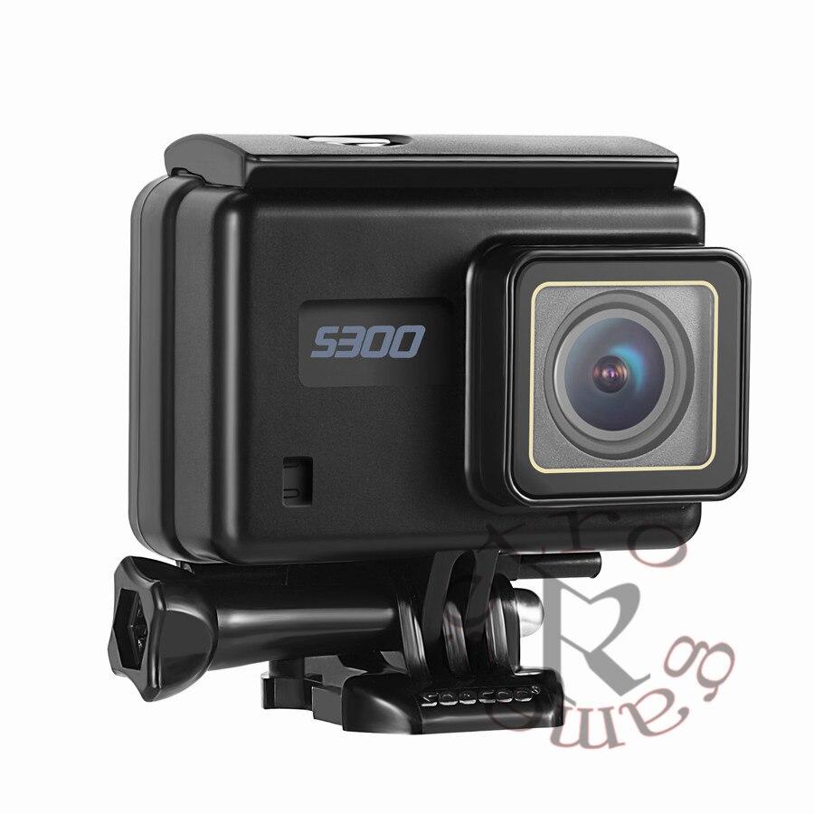 SOOCOO на S300 действие Камера 2,35 touch lcd Hi3559V100 + IMX377 4 К 30fps 1080 P 120fps EIS Wi Fi 12MP удаленный внешний микрофон gps Камера