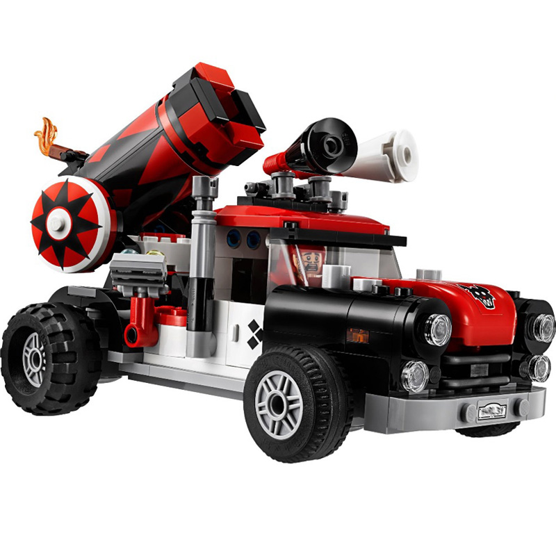 LEPIN 07097 476pcs Harley Quinn Cannonball Attack Building Blocks Sets Gift Kids Toys Compatible with Marvel 70921 lepin 02012 city deepwater exploration vessel 60095 building blocks policeman toys children compatible with lego gift kid sets