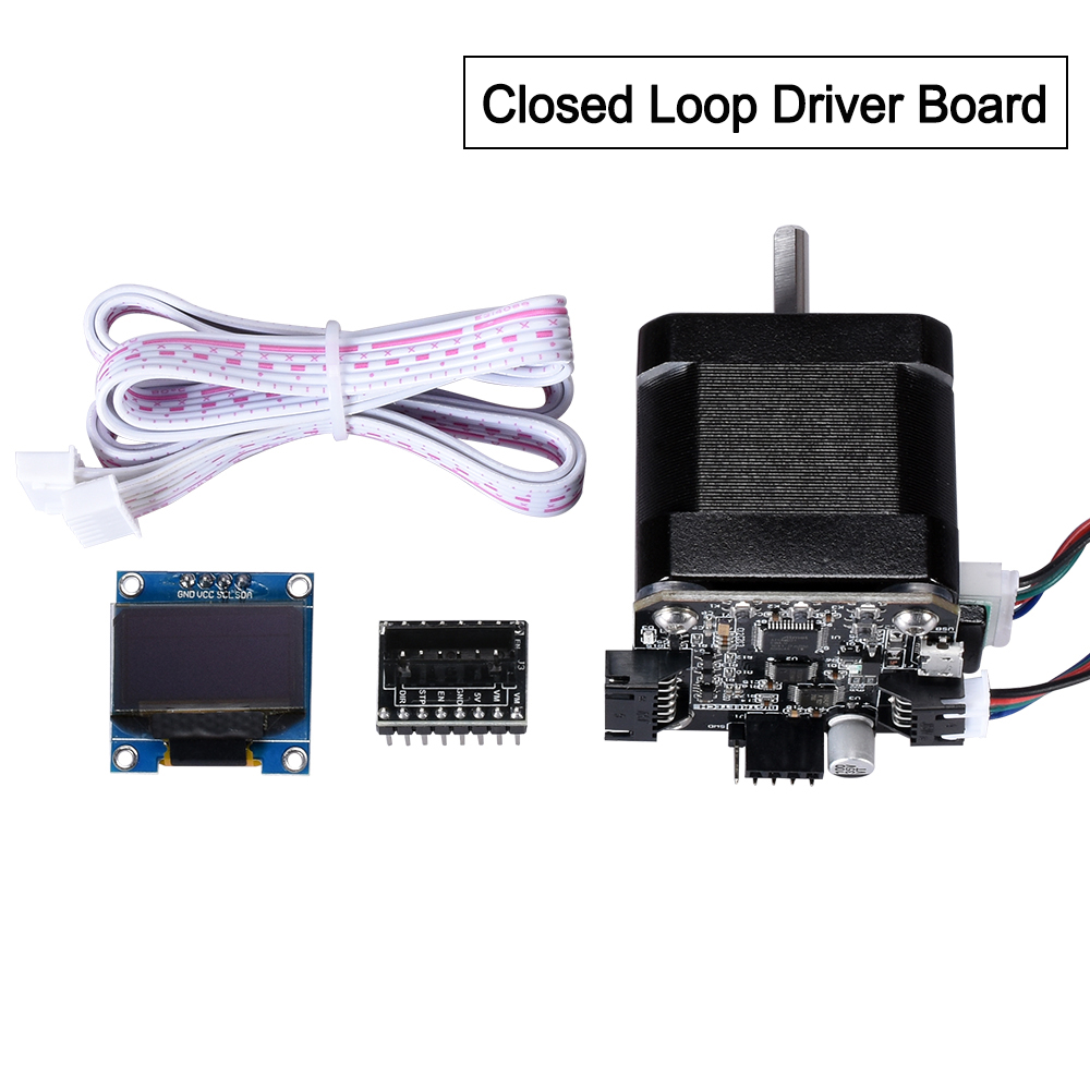 BIGTREETECH S42A 42 Stepper Motor Closed Loop Driver Control Board OLED 3D Printer Parts Reprap Tmc2130 SKR V1.3  Board
