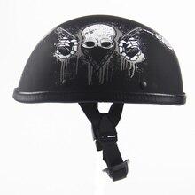 Free Shipping Motorcycle Helmet Open Half Helmet ABS Harley Helmet DOT Vintage Style Moto Professional Moto Helmet
