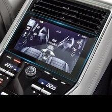 Для Porsche Panamera Cayenne Macan Автомобильный gps навигационный экран стекло стальная защитная пленка контроль ЖК-экрана автомобиля Наклейка