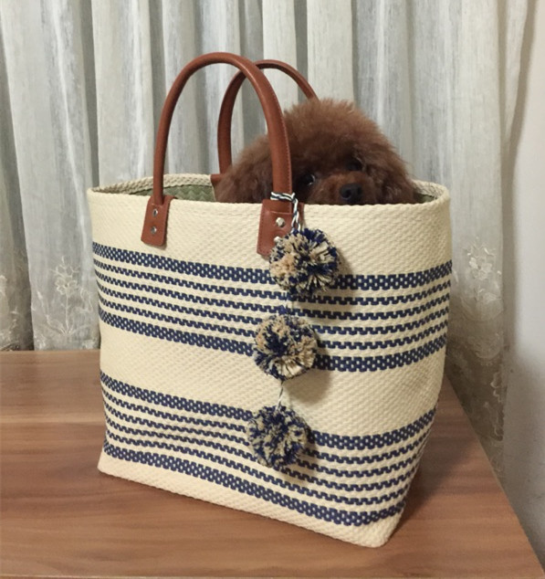 цена на beach bag jumbo straw totes bag summer bags women striped shopping bag handbag braided yellow 2017 new arrivals high quality