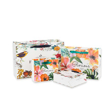 10pcs/lot Cartoon Kraft Gift Decorative Paper Bag With Handles Portable Reusable Environmental Protection Party