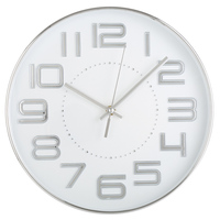 Use Carbon Batteries 12 Inch Metal Wall Clock Modern Minimalist Gift Bell Home Hotel Decoration wall clock