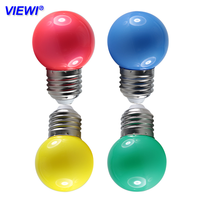 2X Bombillas Led Bulb Light E27 B22 Dc 12 Volt 110V 220v 0.5W G45 Bulbs Lamp White Red Blue Green Yellow Decorative Night Lights