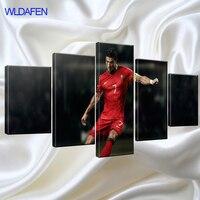 Wk Barcelona Atletico Madrid 5 Stuk Moderne Schilderen Frame Voetbal Muur C Ronaldo Canvas Foto Voor