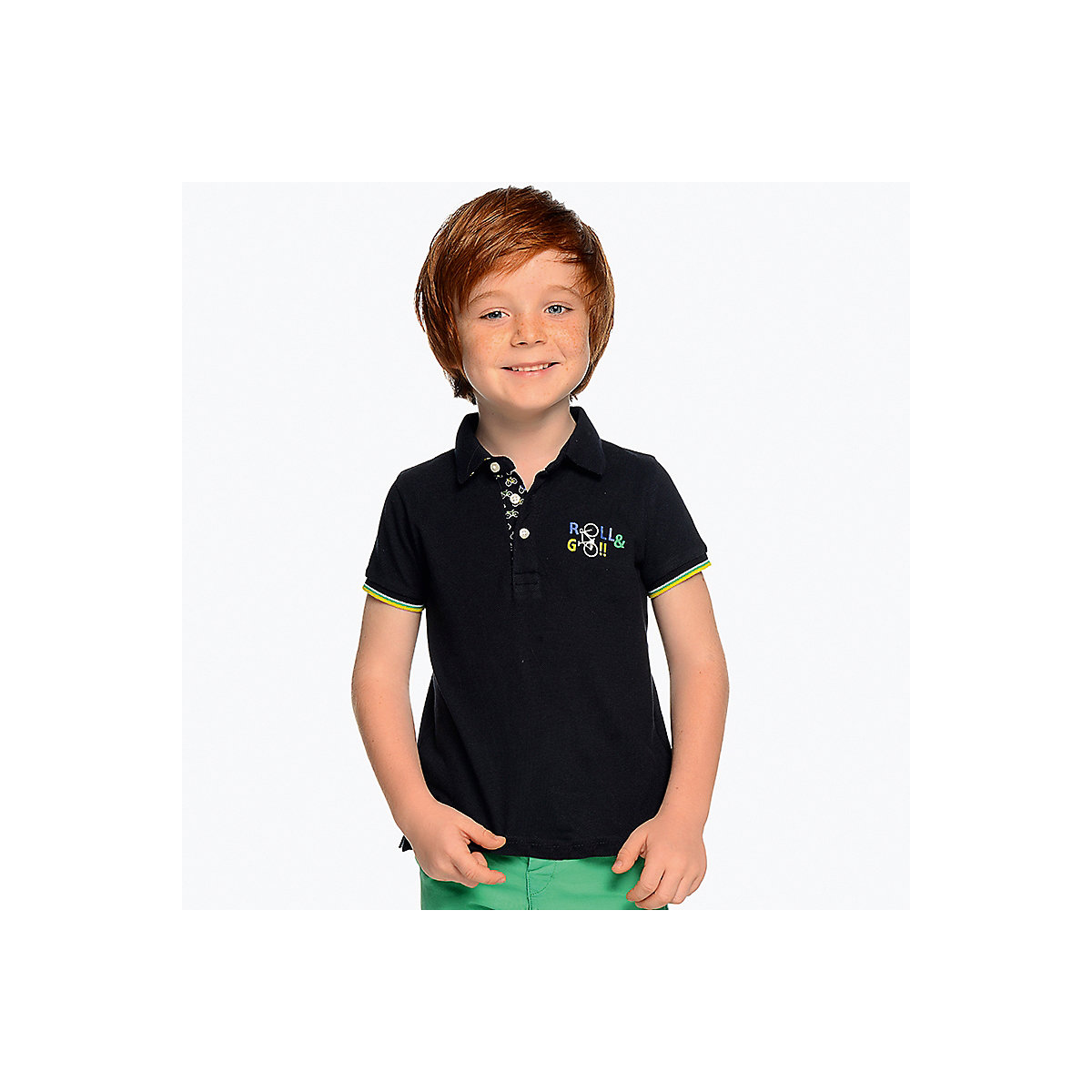 MAYORAL Polo Shirts 10690839 children clothing t-shirt shirt the print for boys