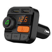 цена на CDEN FM transmitter car mp3 music player 5.0 Bluetooth receiver USB car charger U disk TF card lossless music stereo player