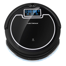 (Ship From Russia) 2017 Strong Suction Robot Vacuum Cleaner,with Water Tank, Wet&Dry Mop,with Tone,HEPA,Schedule,Virtual Blocker