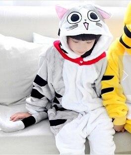 Kat Flanel Pyjama Pyjama Anime Animal Chi's Sweet Home Kaas Kat - Carnavalskostuums