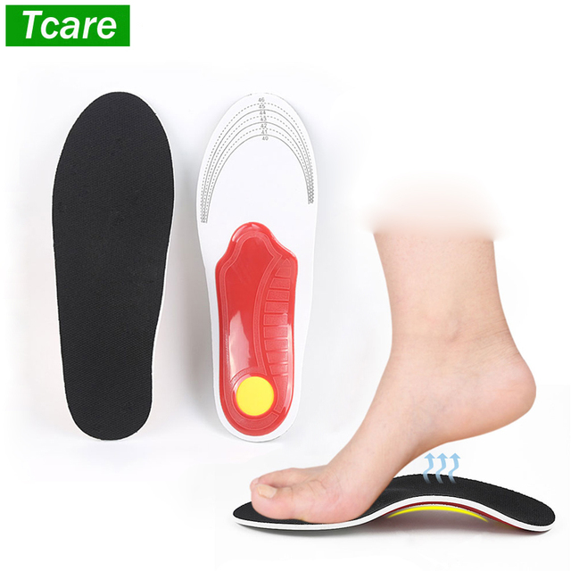 db3ef55d97 1Pair flat feet orthotic insoles arch support orthopedic inserts Plantar  Fasciitis,Feet Pain,Pronation for Men and Women