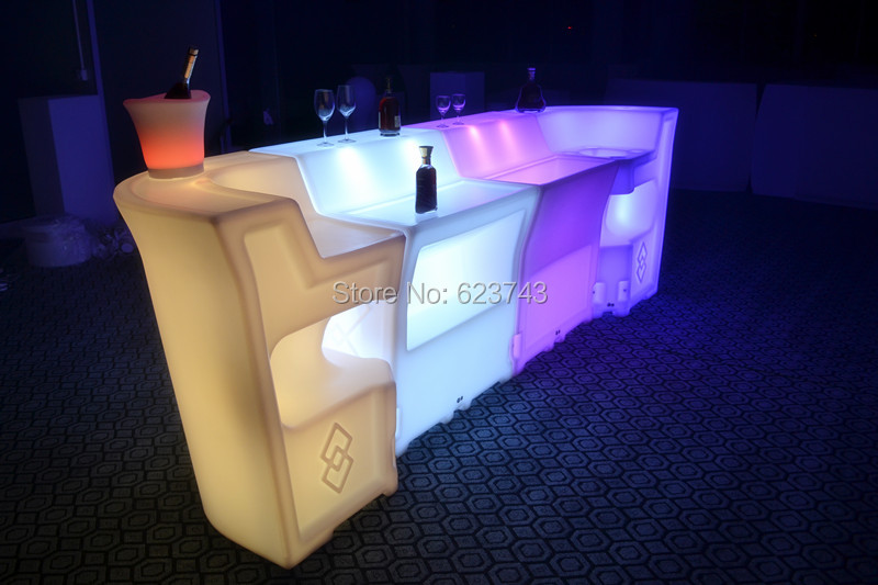 LED BAR Lumineux Table 15