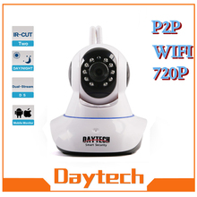 Daytech IP Camera WiFi Home Surveillance Camera Indoor Night Vision IR Network Monitor Security Two Way Intercom