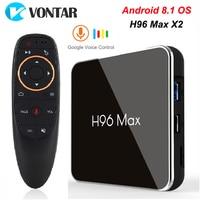H96 MAX X2 4GB 32GB 64GB Android 8.1 TV Box S905X2 USB3.0 1080P H.265 4K Set Top Box Google Play H96MAX Smart TV Player 2GB 16GB