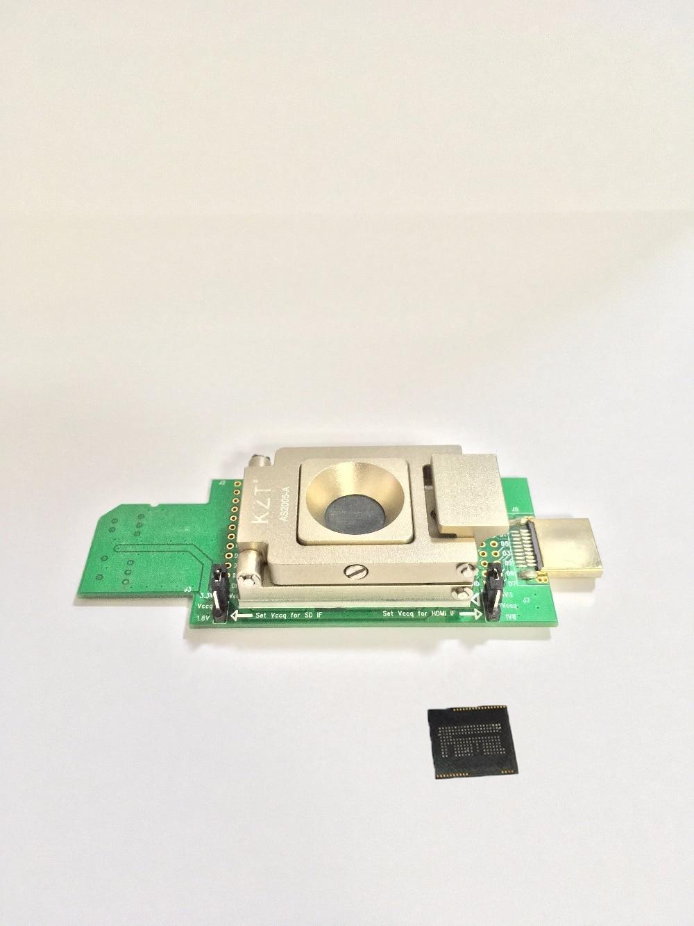 SD Lettore Di Interfaccia Per EMCP162/BGA186 Presa/adattatore Per USB--HDMI Di Recupero Di Dati Con La Lega A Conchiglia Adattatore Di Programmazione