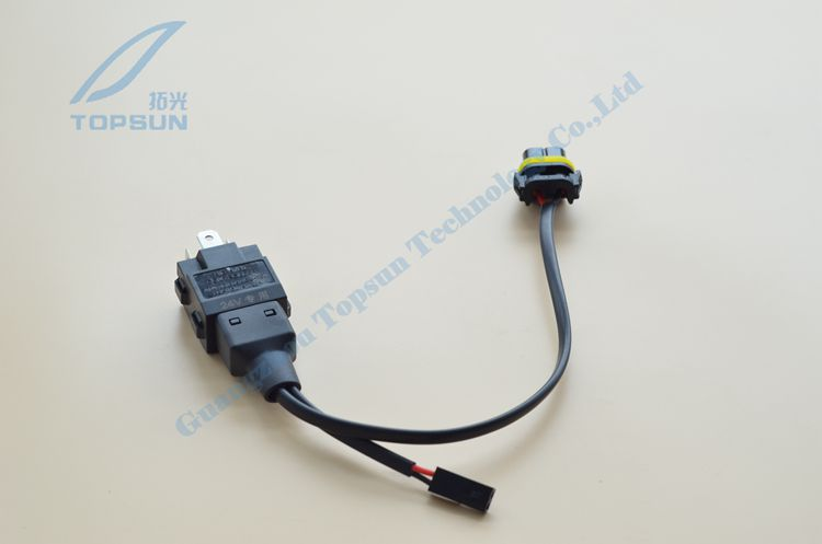 H4-3 HID Wire harness, H4H/L bi-xenon wire harness Relay wire harness 24V 1 to1 акустические кабели atlas hyper bi wire 2 to 4 5 0m transpose z plug gold