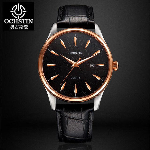 2017 Real Ochstin Luxury Brand Watches Men Women Casual Sports Male Leather Watc