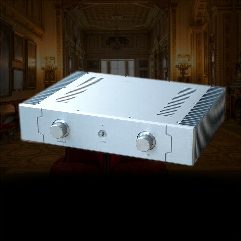 Nobsound HiFi Pure Class A Power Amplifier Stereo Home Audio Amp 130W*2 Refer Sugden A21A