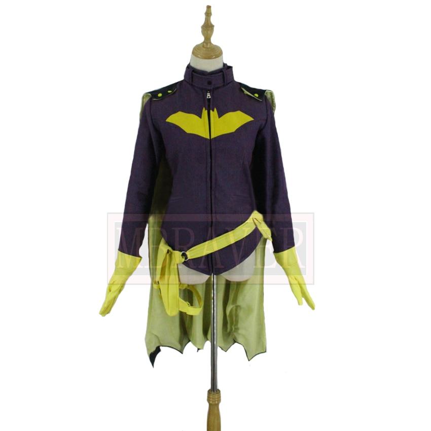 NEW Batgirl Cosplay Hoodie Costume