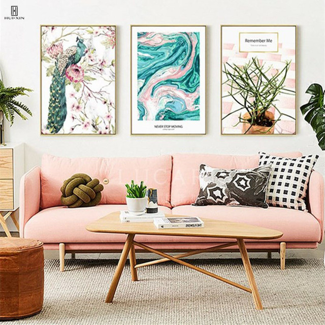 Blossom Age Group Pictures Of Abstract Line Beautiful Colors Wall Drawing Decorative Painting Canvas Posters For Home Decor