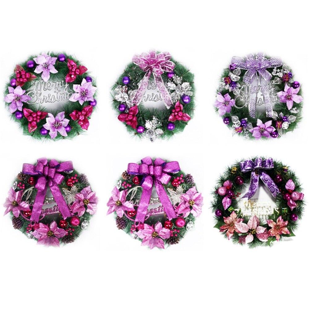 comprar corona de guirnaldas de navidad para el hogar showcase tiendas hoteles pared ornamento de la decoracin cm de