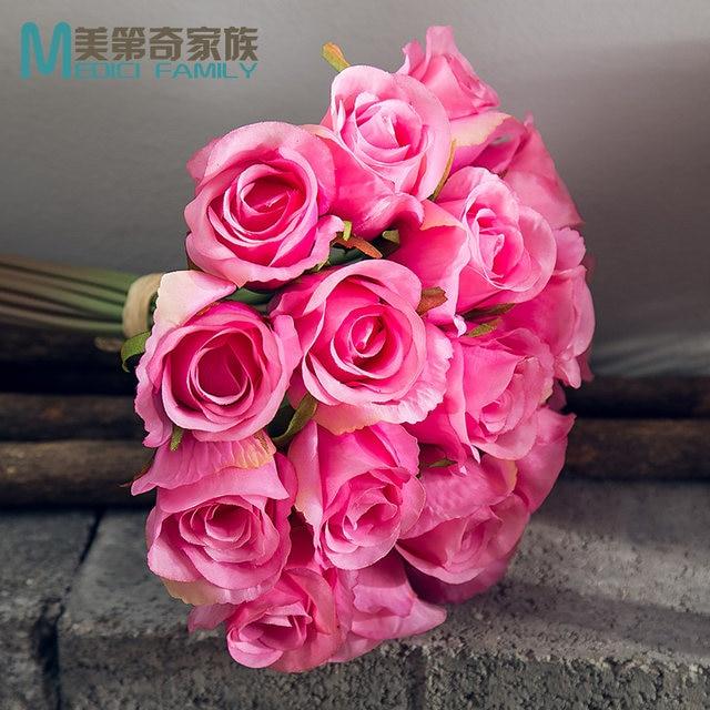 Online Shop Ina roses simulation flower silk flower arrangement ...