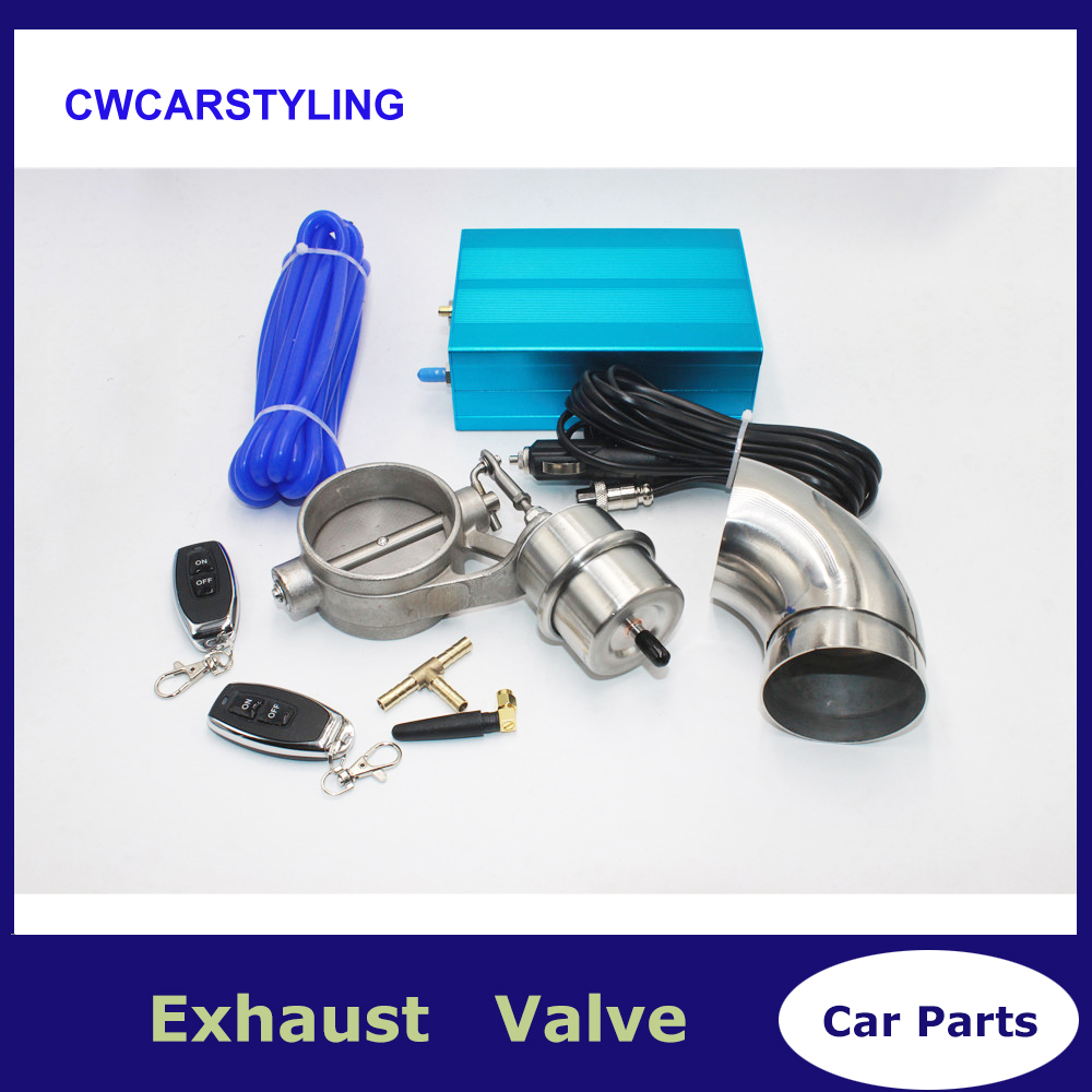 Vaccum Control Exhaust Valve/Cutout Set With Vacuum Pump With Wireless Remote Controller Switch Cut Off The Exhaust