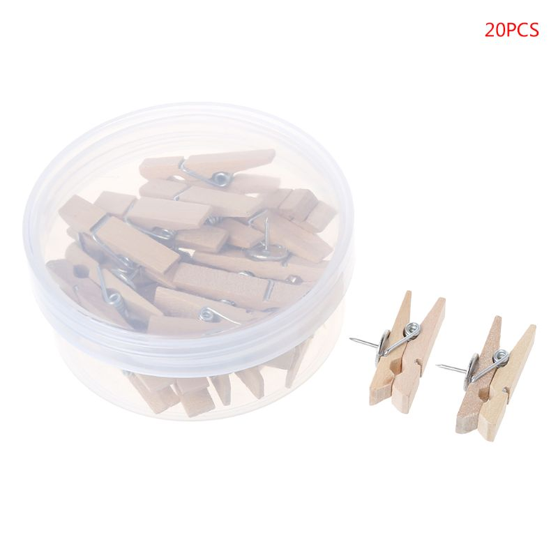 Office & School Supplies Practical Peerless 50pcs Colorful Wooden Clothespin Clips Album Photo Picture Paper Memo Pegs Craft Scrapbooking Craft Decoration