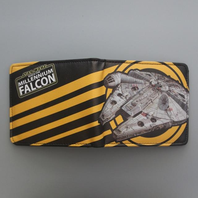 Star Wars  Millennium Falcon Spaceship Leather Wallet