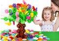 Снежинка головоломки diy снежинка puzzel блока de construction сборка жуэ подарок игрушки развивающие пластиковые intelligence головоломки малыш