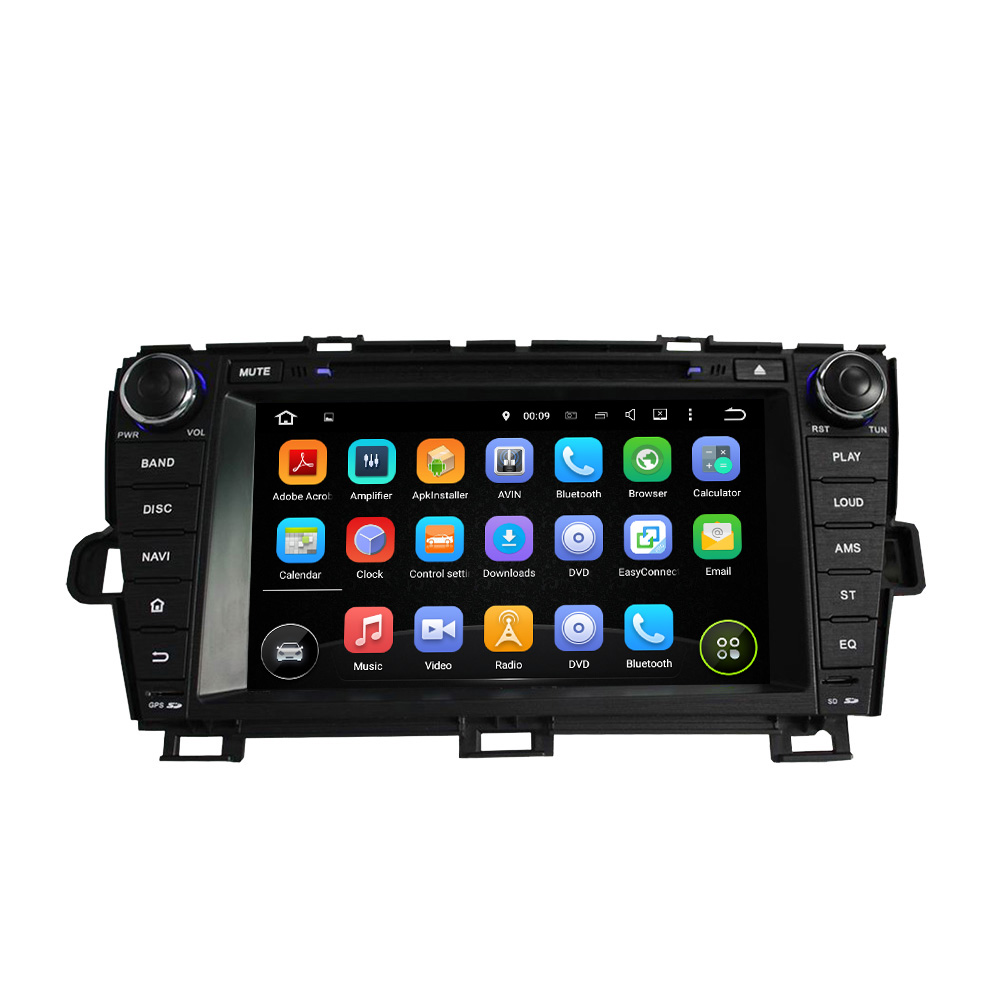 Octa Core 4GB RAM Android 8.0 Car DVD GPS Navigation Multimedia Player Car Stereo for Toyota PRIUS 2009-2014 Left Radio WIFI octa core 4gb ram android 8 0 car dvd gps navigation multimedia player car stereo for bmw mini cooper after 2006 2013 radio