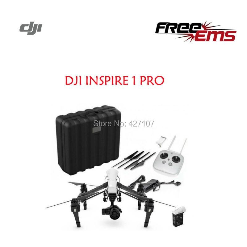 Free Shipping DJI Inspire 1 Pro 3-Axis Gimbal 4K Camera Zenmuse X5 W/Plastic Case Via EMS