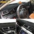 Xukey, Пригодный Для 2006-2015 Volkswagen VW Passat B6 B7 2009-2017 Passat CC Приборной Панели Крышки Dashmat Даш Мат Pad Приборной панели крышка
